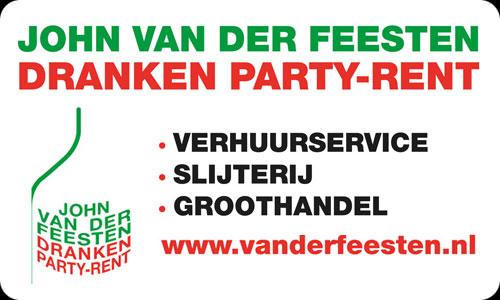 John van der Feesten – Dranken – Party Rent